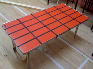 starting grid table tape